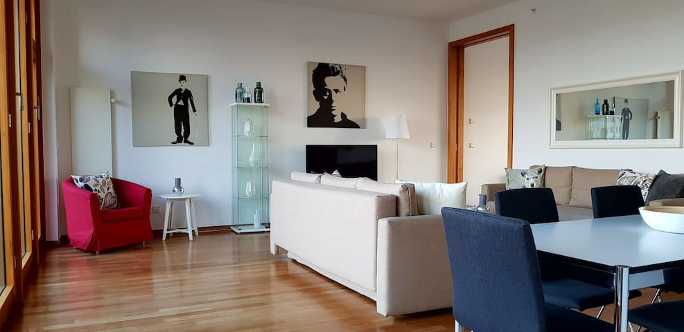 Huge deluxe apartment - very central!  WIFI. 5*