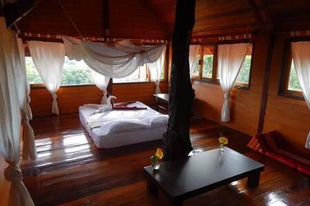 Baan Rao Bed & Breakfast - Seaview double bed room - Ko Lanta Yai