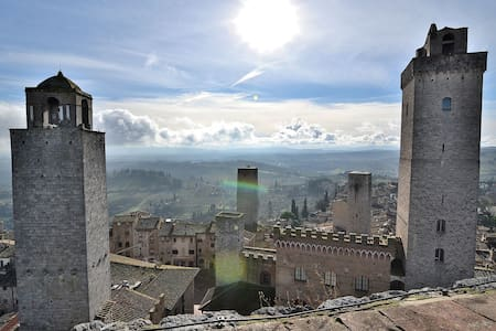 Entire Medieval Tower House  - San Gimignano