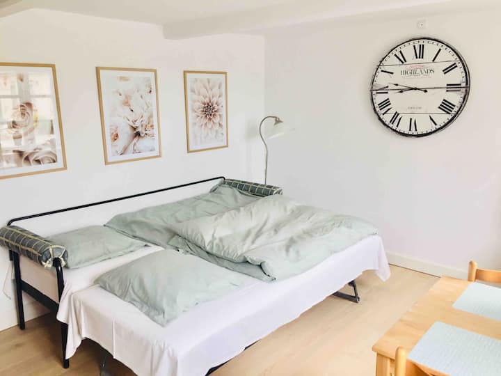 Apartment in romantic and peaceful surroundings