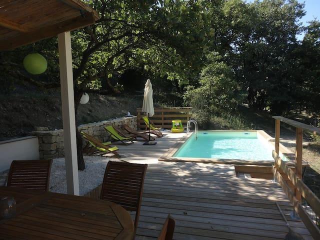gite avec piscine en Drome provencale - La Bégude-de-Mazenc - Other