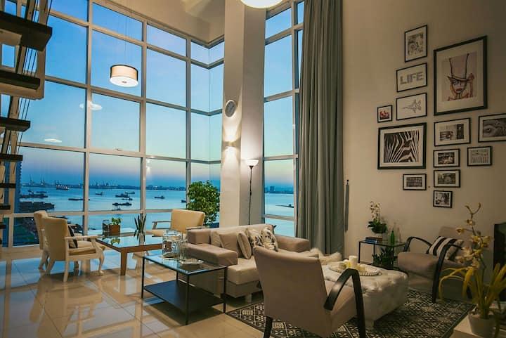 Seafront Scandinavian Home ‖ 北欧风格日出无敌海景套房