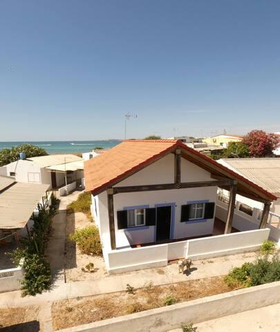 casa en la isla de Armona-ilha de armona
