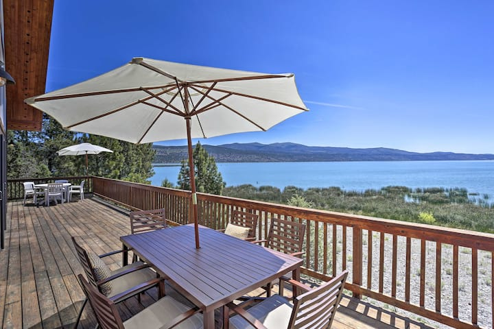 Scenic Susanville Cabin w/ Deck on Eagle Lake