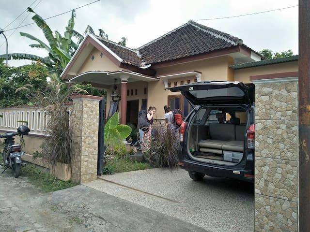 Ijen heliconia home stay is simple house near Ijen