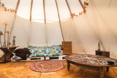 Nomadic Tipi at a worldwide community! All welcome