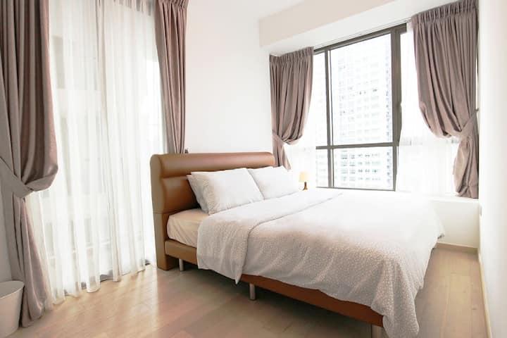 Spacious 2 bedroom apartment at Telok Balangh road