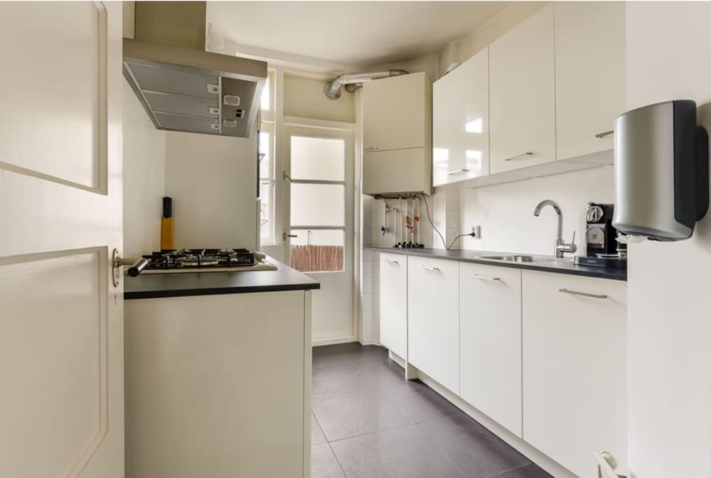 Kitchen equipped with Boretti appliances