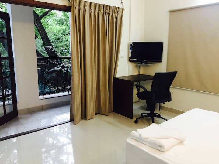 Classy, well-appointed 2 BHK close to MG Road