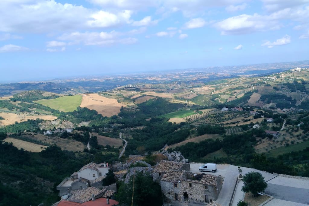 view from Corvara