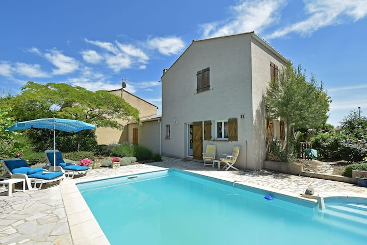 Elegant Villa in Bize-Minervois with Swimming Pool