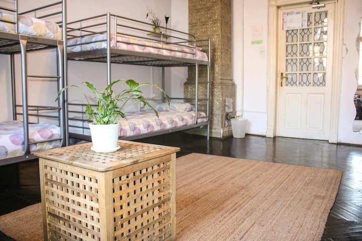 8 Bed Dorm at Podstel Bucharest