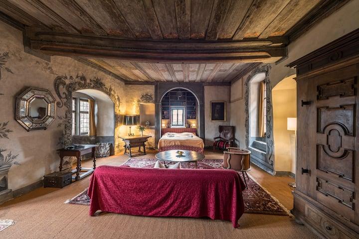 Das Schloss Apartment in Unsleben