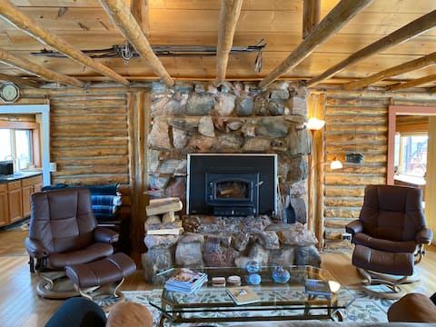 Exhale & Relax at The Cabin in the Blue Sky