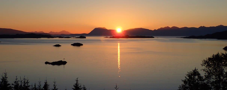 Lofoten and Vesteraalen cabin with amazing view