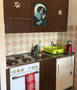 Studio with beautiful view in Veysonnaz