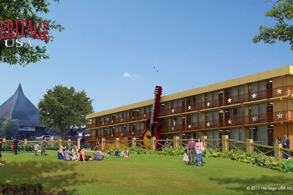 Heritage USA Resort Hotel Remodel Plans