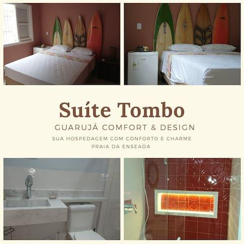 Suíte Tombo - Guarujá Comfort & Design