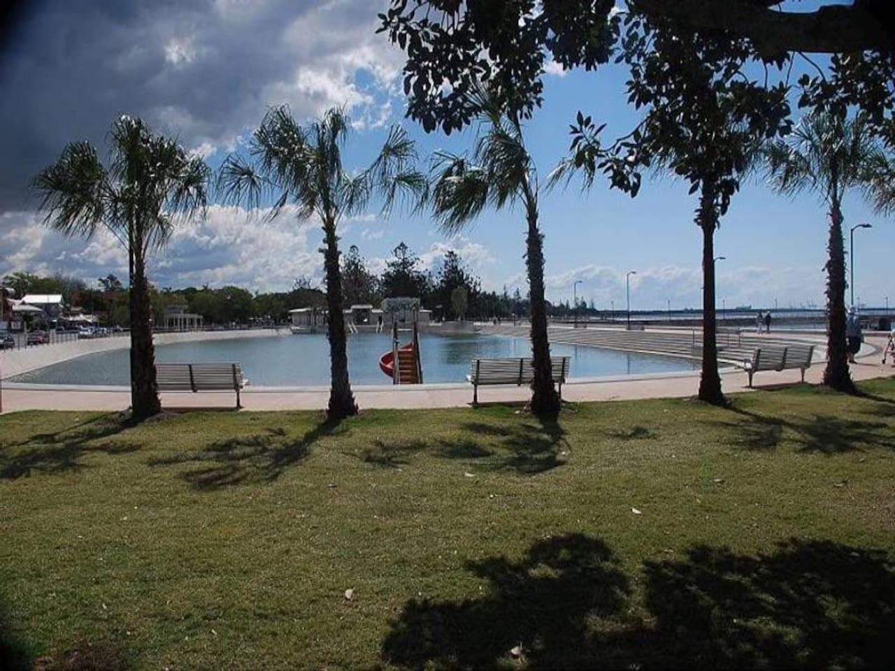 Wynnum tidal pool
