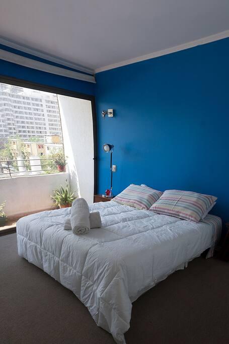 Dormitorio Completamente equipado para una confortable estadía