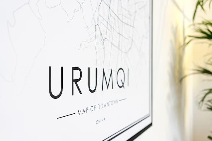 「柒月·Urumqi」鲤鱼山下,拥博格达峰壮阔雪景,私享120寸巨幕投影+绝美餐厅+全屋智能家居