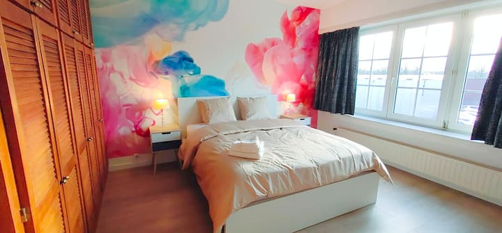 House with free parking near Brussels airport💎💎💎💎💎