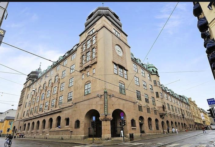 In the heart of Oslo