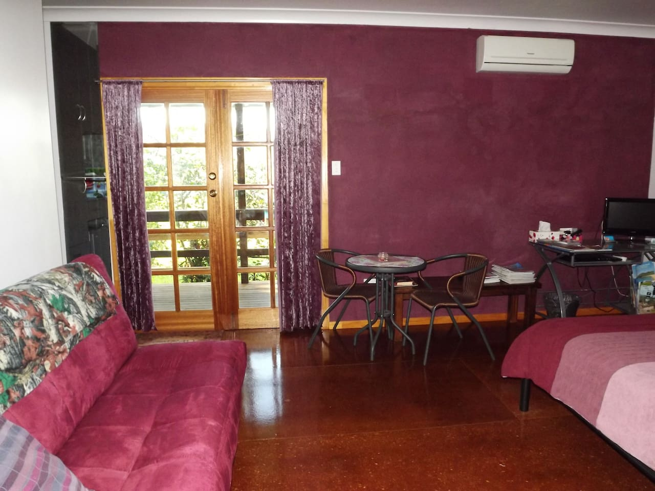 Pink Room Accommodates up to 4