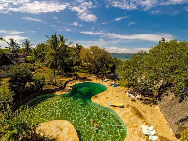 Coral House at Shimoni . Our Beautiful Gem.