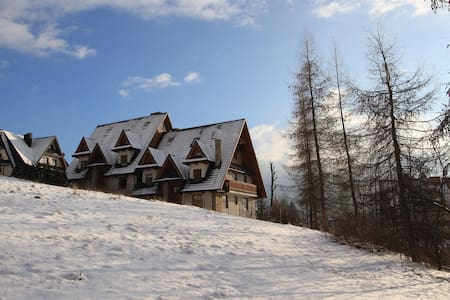 Very spacious apartment in quiet part of town - Zakopane
