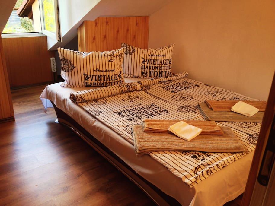 Room No. 3, cozy Sofa Bed