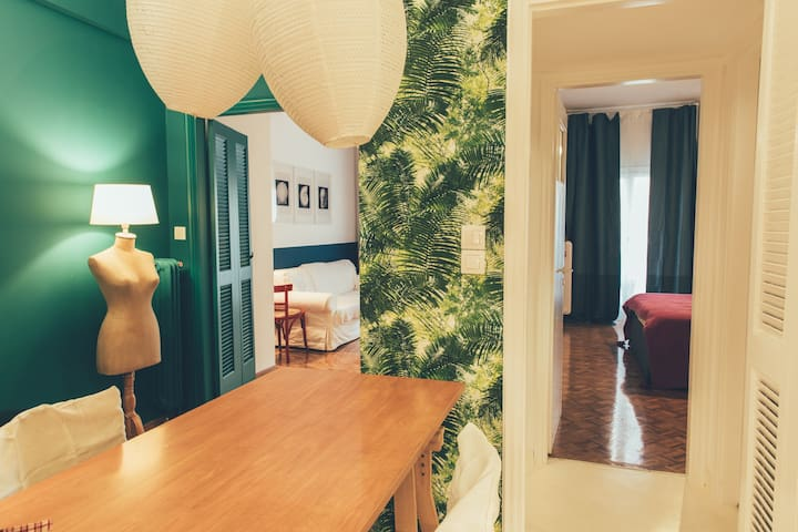 BLUE-GREEN apartment