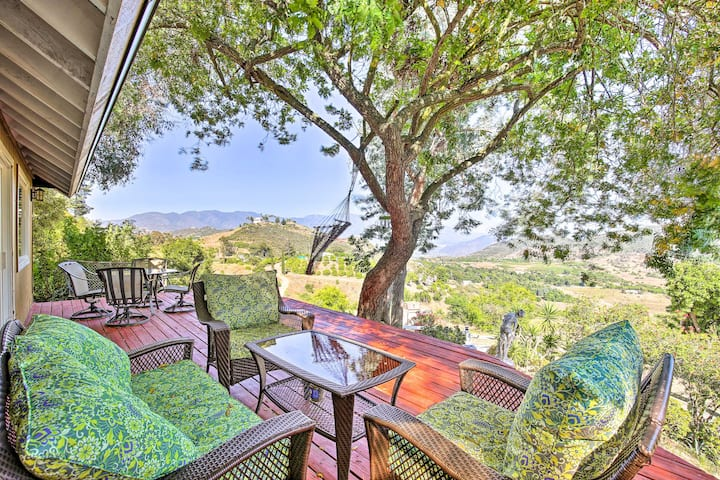 NEW! Hilltop Home in Wine Country: Hot Tub & Views