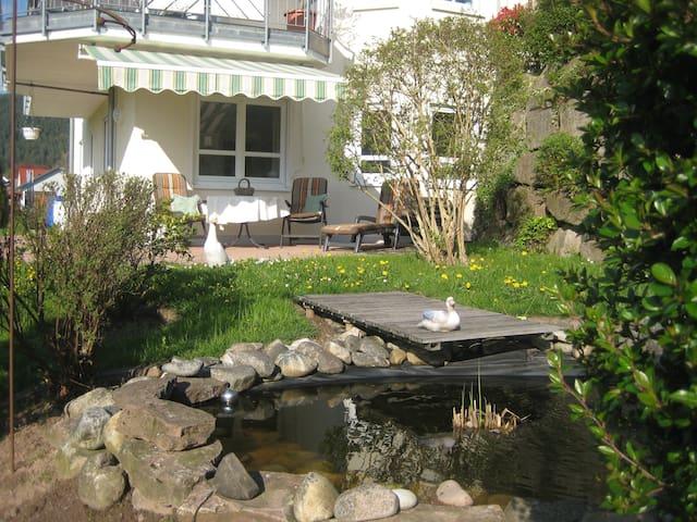 Schöne Ferienwohnung mit Terrasse und sep. Eingang