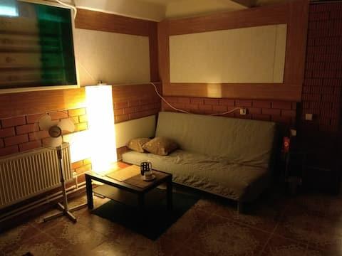 Большая комната в большом доме недалеко от метро