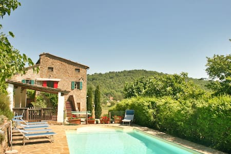 Casa Gorgacce: Beautiful private house with pool. - 科爾托納