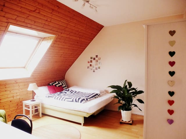 Cosy room under the roof - Bremen - Leilighet