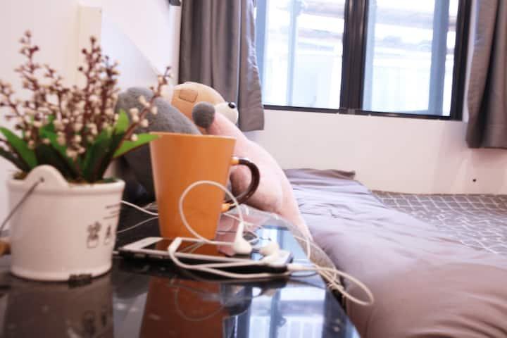 上海外滩美术馆 南京东路 万国大厦 美签证大厅 近地铁2/8/10号线一居室