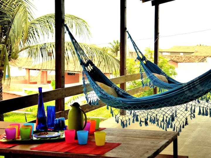 casa de praia Paraiso em condominio+seguridade