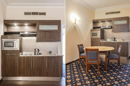 1 Bedroom Serviced Aprt. Nile View3 - Zamalek - Apartment