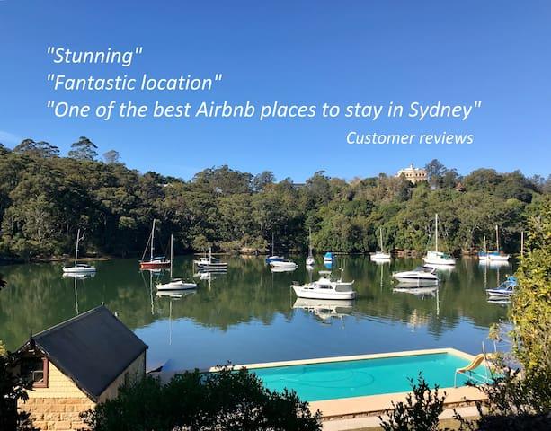 Stunning Sydney Waterfront Cottage