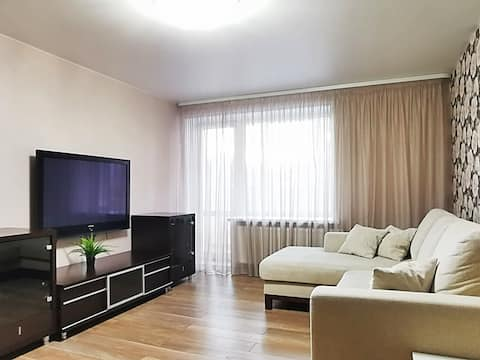 Уютная двухкомнатная квартира в центре города