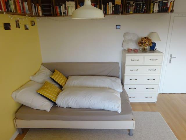Schönes Zimmer für 2-5 Pers. nahe Bhf-Wilhelmshöhe - Kassel - Apartamento