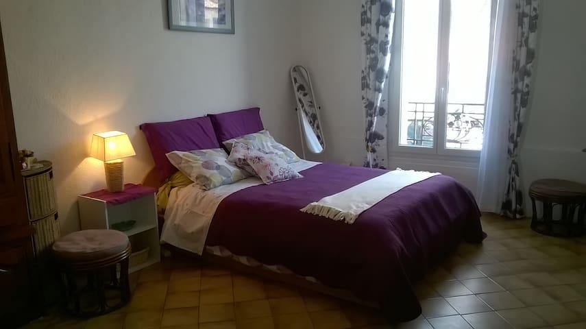 Grand studio du randonneur chez Marc et Thérèse - Castries - Apartment