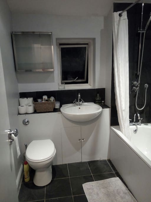 Bathroom (shared with family and one other AirBnB room)
