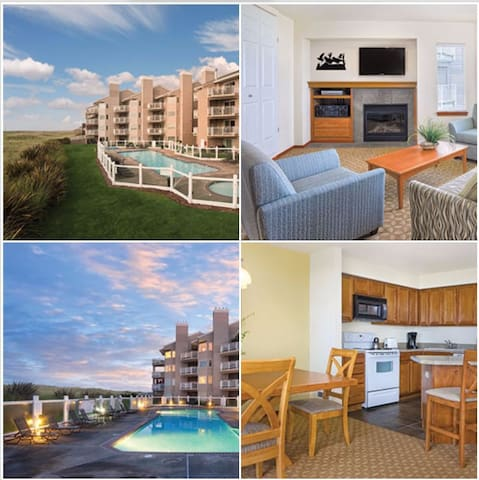 2 Bed Wyndham Mariner Village, WA - Ocean Shores - Apartment