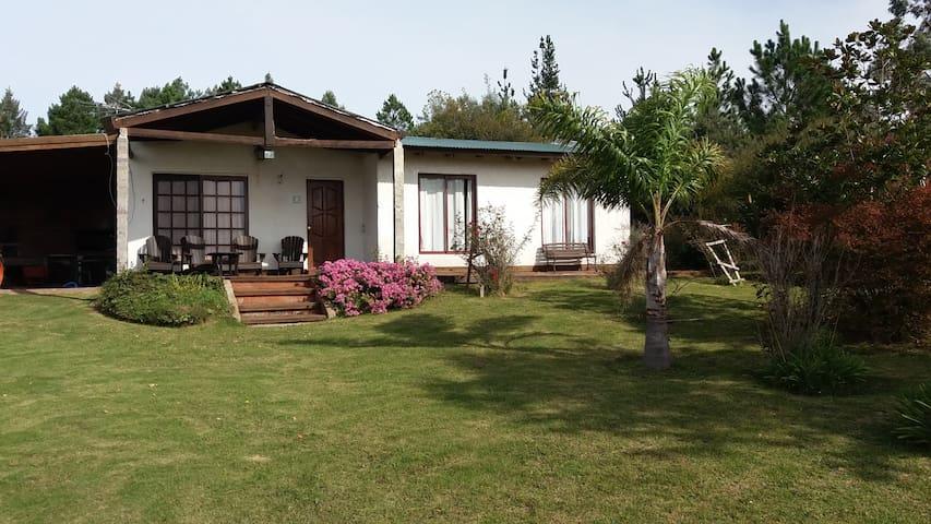 Casa de campo 11 has, entorno panorámico Ruta 12 - El Edén - Huis