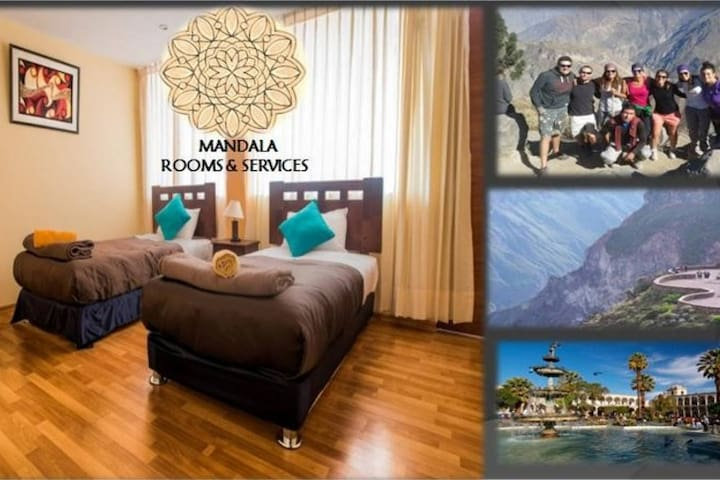 PRIVATE ROOM + WE OFFER  COLCA CANYONTOURS - Arequipa - Pis