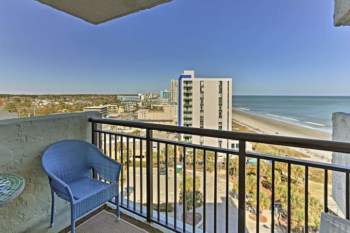 Myrtle Beach Studio w/Ocean View&Resort Amenities