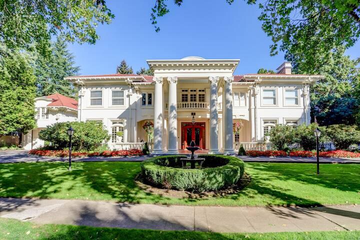 "Portland's White House - ""Lyndon & Lady Bird"""
